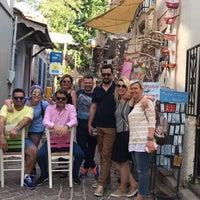 Photo taken at Απεραντο Γαλαζιο by Selen A. on 5/6/2017