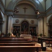 Photo taken at Church of Saint Agnes by RENZO S. on 7/13/2013