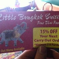 Photo taken at Little Bangkok Cuisine by Joe R. on 1/23/2013
