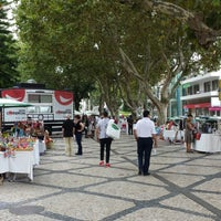 Photo taken at Passeio Luís Pinto Coelho by Radek on 9/13/2014