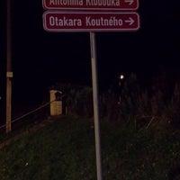 Photo taken at Velký Týnec by Radek on 11/23/2014