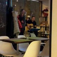 Photo taken at Café B. Braun by Radek on 1/19/2013