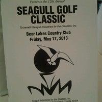 Photo taken at Bear Lakes Country Club by Amanda C. on 5/17/2013
