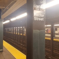 ... Photo taken at MTA Subway - Rector St (R/W) by Kostya on ...