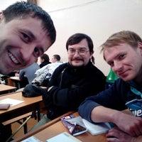 Photo taken at МГУ Кулешова 2 Корпус by Jim B. on 11/23/2012