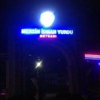 Photo taken at Mersin İdman Yurdu Meydanı by OKTAY K. on 4/18/2013