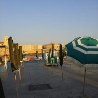 Photo taken at Bagni Pancaldi Acquaviva by Andrea B. on 8/15/2013