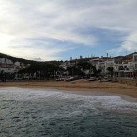 Photo taken at Tamariu by Yulia L. on 10/21/2012