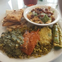 Photo taken at Gokul Indian Restaurant by Woof R. on 4/3/2015