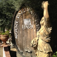 Photo taken at Mount Palomar Winery by SteeVee D. on 10/29/2012