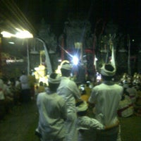 Photo taken at Pura Dalem Penataran Desa Adat Legian by Ketut B. on 11/13/2013