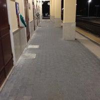 Photo taken at Stazione Patti by Filippo R. on 10/21/2012