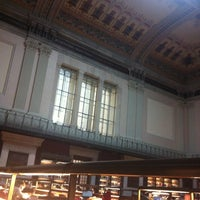 Photo taken at Biblioteca Nacional de España by Yanet A. on 1/28/2013