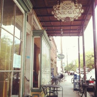 Photo taken at Cafe Rose Nicaud by Clara P. on 3/21/2013