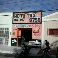 Photo taken at Moto táxi matriz by Tiago M. on 2/4/2014