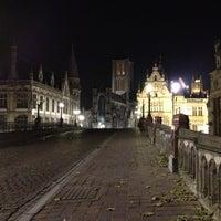 Photo taken at Sint-Michielsbrug by 💈 Mathieu 💈 on 11/20/2012