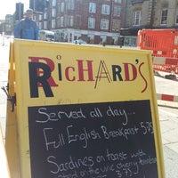 Photo taken at Richard's Café by Jim ♕. on 6/1/2013