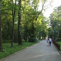 Photo taken at Черкизовский парк by Alexey Z. on 5/19/2013