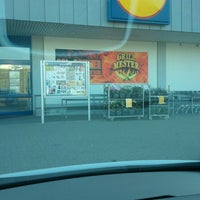 Photo taken at Lidl Sæby by Per K. on 7/10/2014