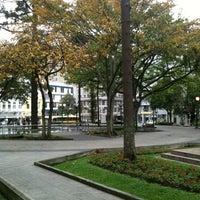 Photo taken at Praça Tiradentes by Ci S. on 12/31/2012