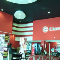 Photo taken at Cinemex Los Pinos by vanessa d. on 5/17/2014