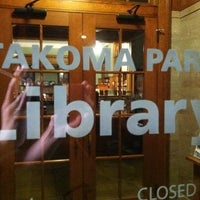 Photo taken at DC Public Library - Takoma Park by Spence T. on 7/28/2013