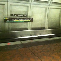 Photo taken at Fort Totten Metro Station by Spence T. on 11/30/2012