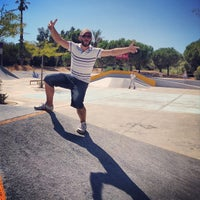 Photo taken at Skate Parc Hyères by Loïc L. on 8/23/2013