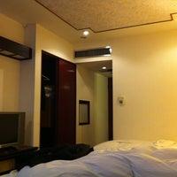 Photo taken at 六福客棧 The Leofoo Hotel by Fukunaga M. on 1/11/2013