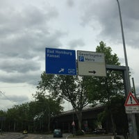 Photo taken at AS Frankfurt-Ost (14) by Corinna S. on 6/14/2013