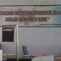 Photo taken at Dispenduk & Capil Kota Kediri by Yohan R. on 3/4/2013