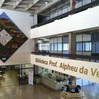 Photo taken at Biblioteca Central Prof. Alpheu da Veiga Jardim (BC) by Dayna Karina N. on 5/28/2013