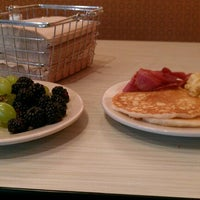 Photo taken at Hill Dining Hall by Tatenda M. on 11/4/2012