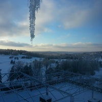 Photo taken at Hotel Château-Bromont by Patrik F. on 12/24/2013