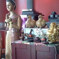 Photo taken at Kaosamai Thai Restaurant & Caterer's by DenMom & MoMo W. on 4/4/2013