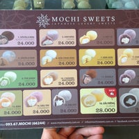 Photo taken at MOCHI SWEETS by kun on 4/7/2013