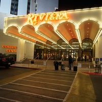 Photo taken at Riviera Hotel & Casino by Hyunho S. on 1/22/2013