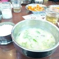 Photo taken at 신선설농탕 by Cloe W. on 1/3/2013