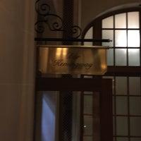 Photo taken at Bar Hemingway by Bruce D. on 1/21/2017