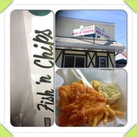 Photo taken at Sir Cricket's Fish & Chips by Bora T. on 7/23/2013