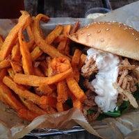 Photo taken at Farm Burger by Antroine M. on 10/12/2013