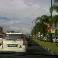 Photo taken at Traffic Light Lencongan Timur by T A. on 12/18/2012