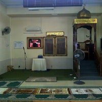 Photo taken at Masjid Tuan Hussain by T A. on 3/19/2013
