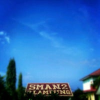 Photo taken at SMA Negeri 2 Bandar Lampung by Ammalia R. on 10/30/2012