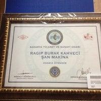 Photo taken at Şan Makina by Ragıp K. on 11/3/2012