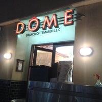 Photo taken at Dôme Café by Vinu V. on 11/27/2012