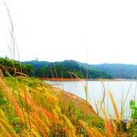 Photo taken at BangWard Dam by Dew S. on 4/17/2013