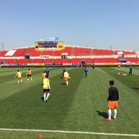 Photo taken at Gwangyang Football Stadium by WS L. on 4/29/2017