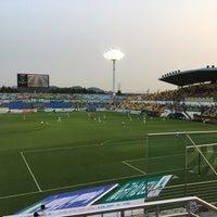 Photo taken at Gwangyang Football Stadium by WS L. on 6/17/2017