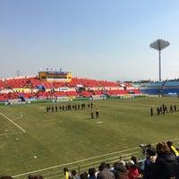 Photo taken at Gwangyang Football Stadium by WS L. on 3/12/2017